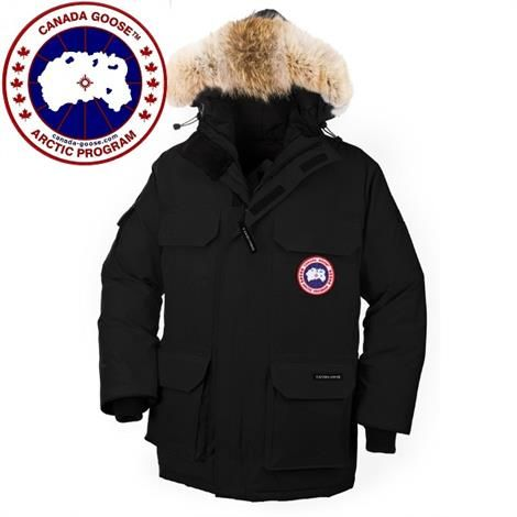 Image of   Canada Goose Mens Expedition Parka, Black